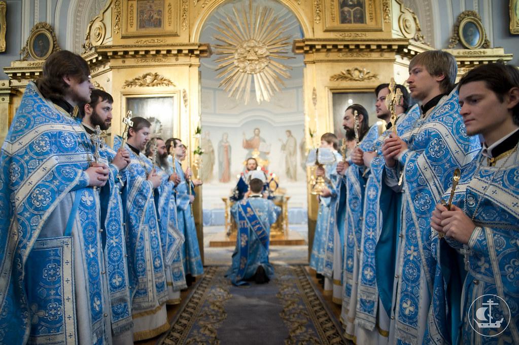 15 февраля 2013, Литургия в праздник Сретения Господня