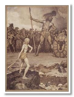 David i Goliat by Antoni Llena