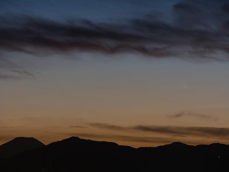 パンスターズ彗星(2013/3/12 18:20:21)