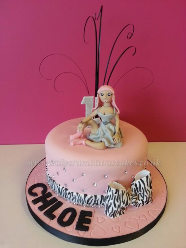 Superb Nicki Minaj Cake Debbie Scott Flickr Personalised Birthday Cards Paralily Jamesorg
