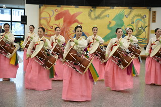 Korean Traditional Music Orchestra Daejeon at the VIC