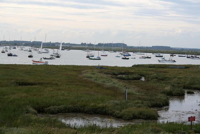 The River Alde, Aldeburgh