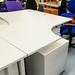 Cantilever desk white radial 1600*1200 E130
