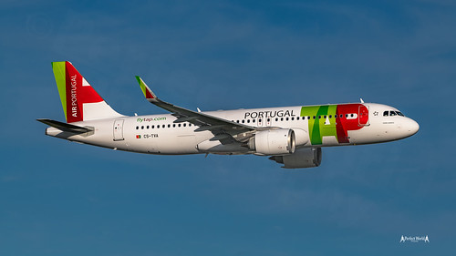 Low Pass at Delivery flight....  CS-TVA TAP - Air Portugal -  Airbus A320neo   by José M. F. Almeida