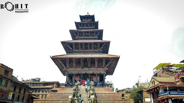 Bhaktapur's Natapol Temple