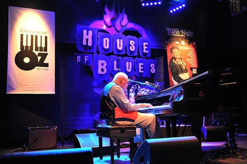Ellis Marsalis at WWOZ's 30th Annual Piano Night - April 30, 2018. Photo by Michael E. McAndrew Photography.