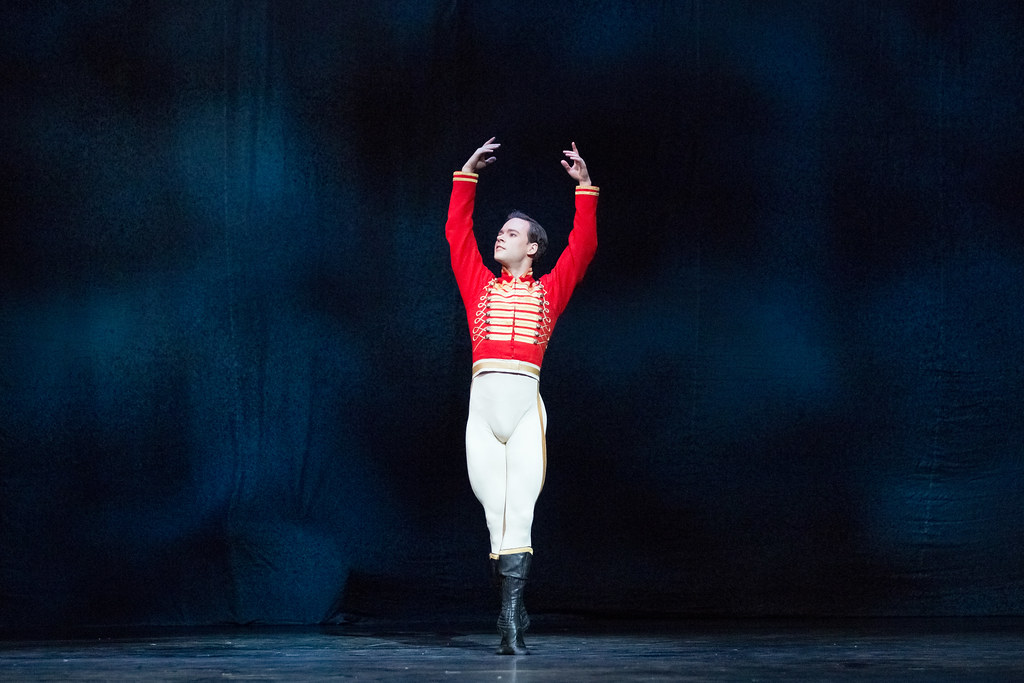 Alexander Campbell as Hans Peter in The Nutcracker, The Royal Ballet © 2017 ROH. Photographed by Karolina Kuras