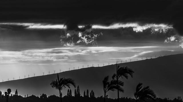 2015-02-10_Sunset over West Maui