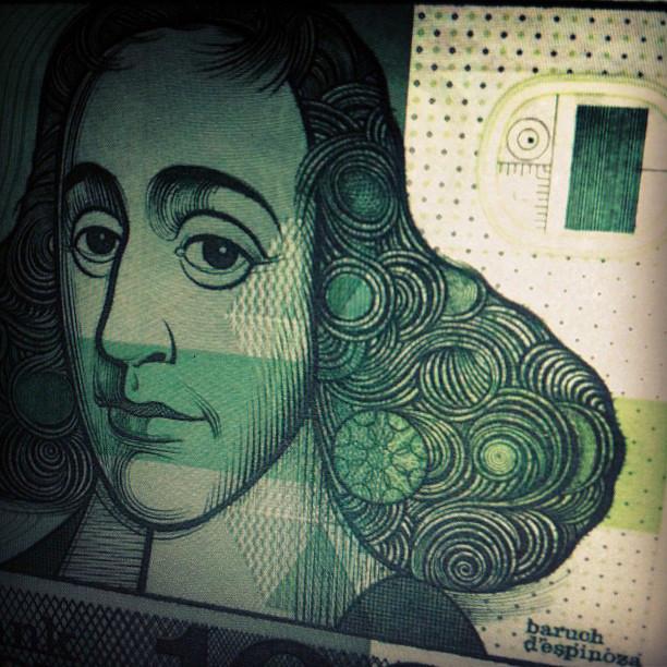 Baruch De Spinoza Old 1000ƒ Note Paul Keller Flickr