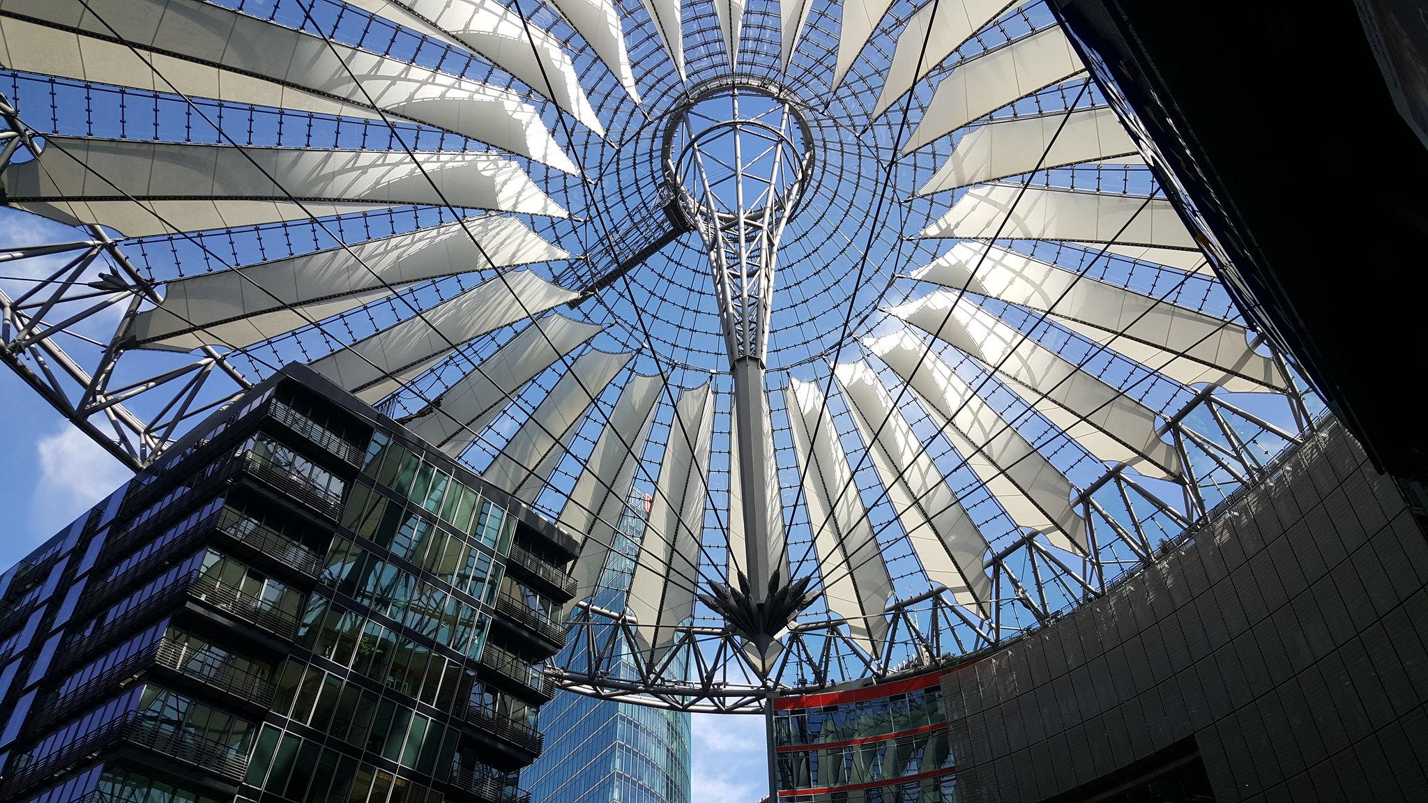 Rooftop near Sony in Berlin