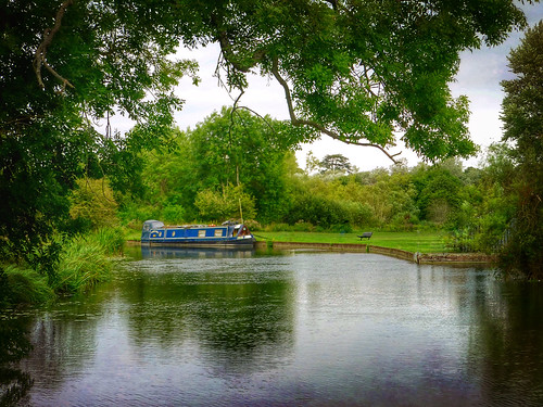 landscape outdoors canal water nature narrowboat countryside boat