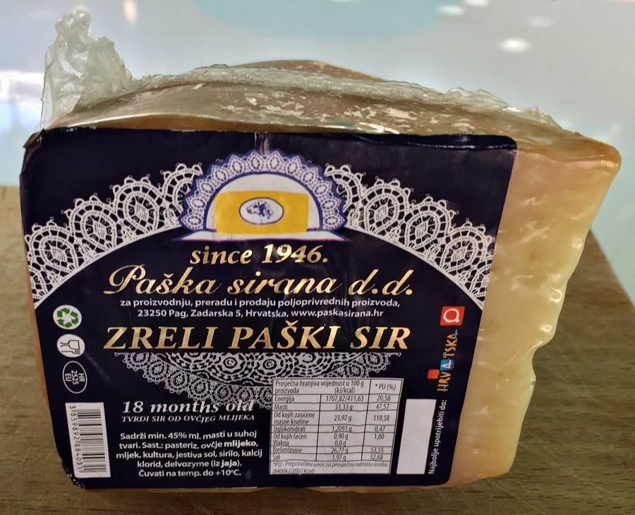 Croatian Postki Cheese