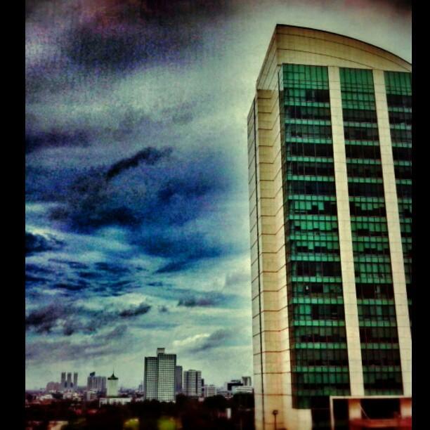 Panin Tower And Mulia Hotel Jakarta Enjoyjakarta Landma Flickr