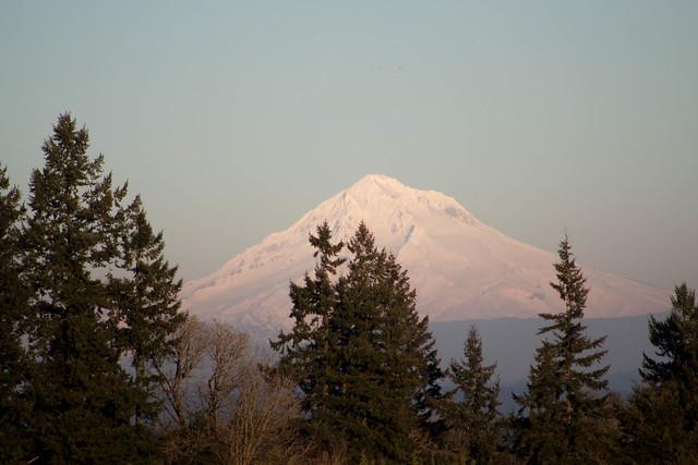 Mt. Hood from near Aurora, OR