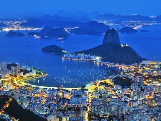 Blue Hour in Rio de Janeiro | by justin_vidamo