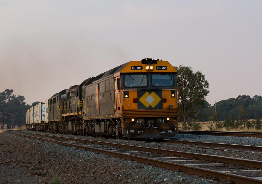 9306 UP Tocumwal Freight by Matt McFarlane