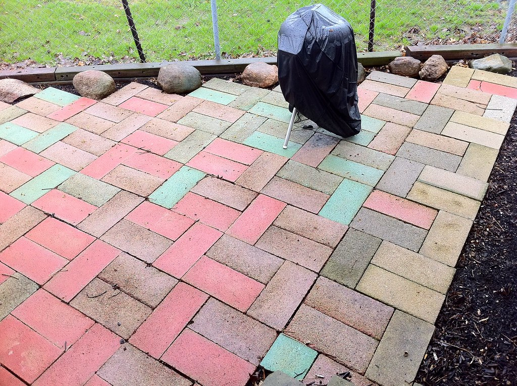 Faux Stone Patio | Recipes And More Available From Javelin W ...