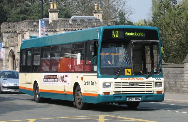 Cardiff Bus 266 (J266UDW)