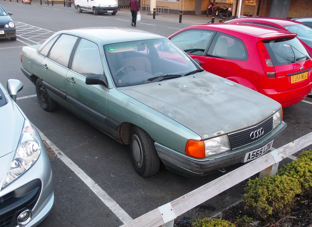 1984 Audi 100 | I've been on the lookout for this Audi ...