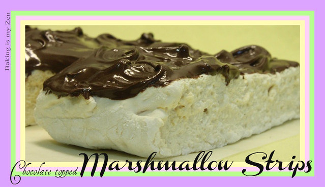 Chocolate Topped Marshmallows~
