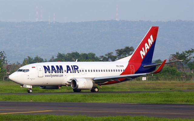 PK-NAN NAM Air Boeing 737-524(WL)