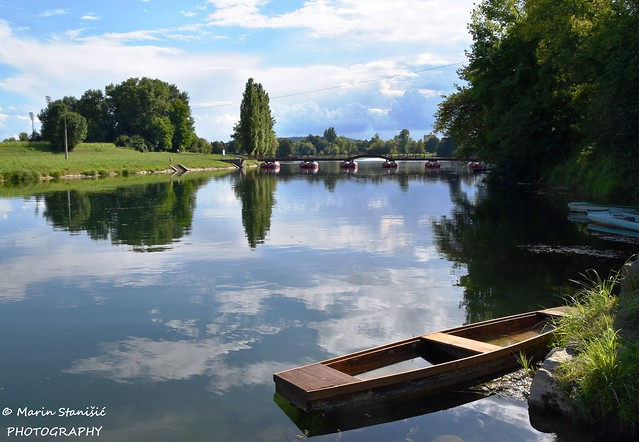 Karlovac, Croatia - Afternoon time on river Korana