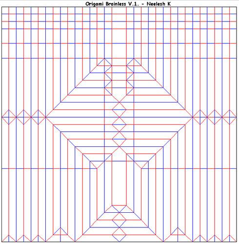 ORIGAMI - BRAINLESS ! (V.1) CP | by Neelesh K