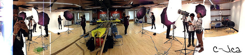 Branded Conference on-site Studio
