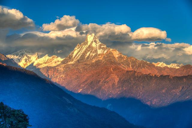 Sunrise over the Annapurna, Nepal