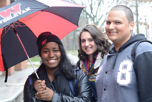 Wesleyan students