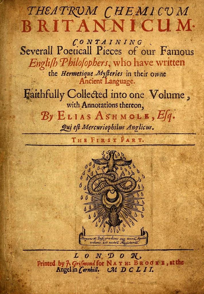 001-portada-Theatrum chemicum britannicum…1652- Elias Ashmole
