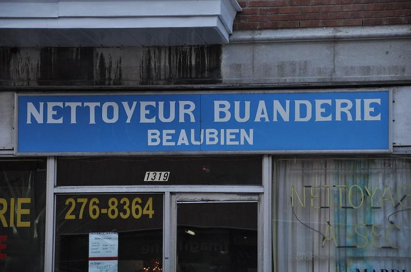 Nettoyeur Buanderie Beaubien