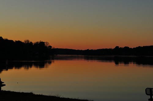 sunset lake nature nikon day clear d5000