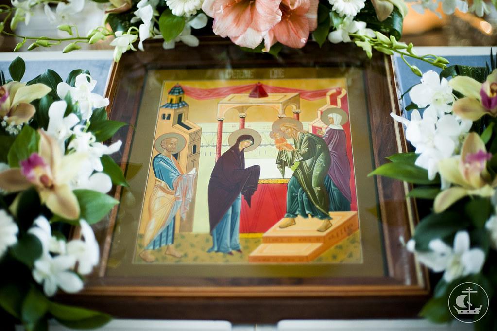 14 февраля 2013, Всенощное бдение накануне праздника Сретения Господня