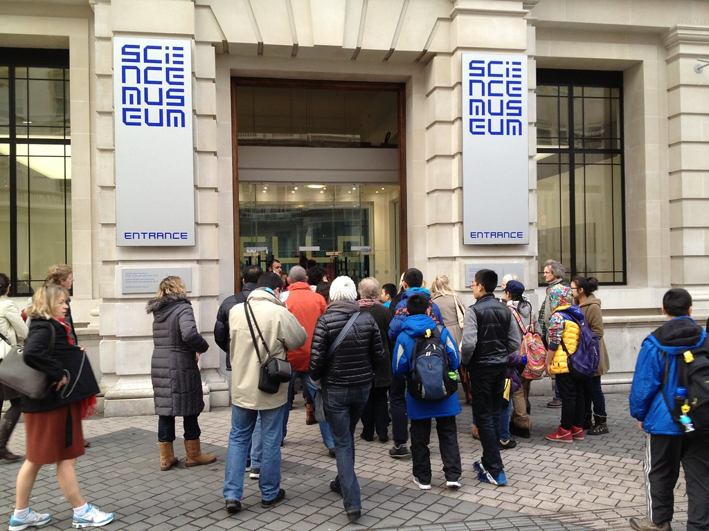 Science Museum entrance