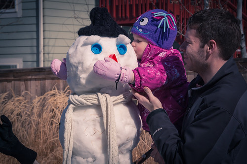 Snowman Building   by Chris&Rhiannon