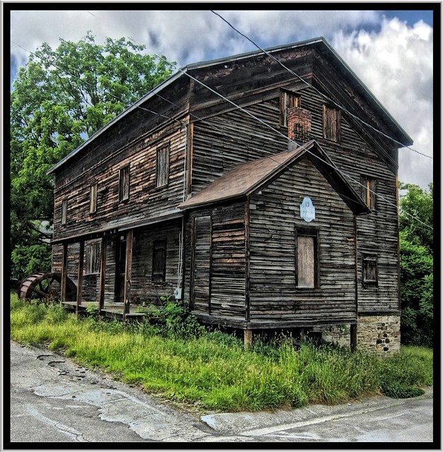 Naples NY ~ Landmark 19 ~ Historical Grist Mill