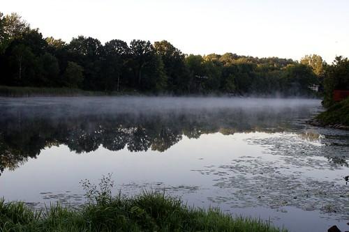 water riverbank serene