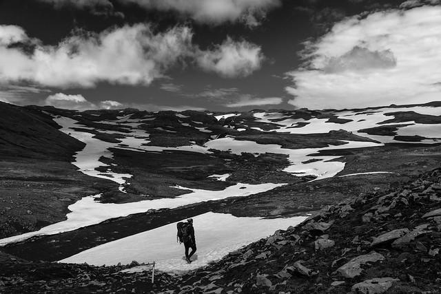 On the Fimmvörduháls Hike