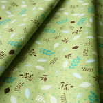 Anthology Fabrics Deerfield PR562 Leaves Green