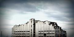 demolition in Aalborg, Denmark
