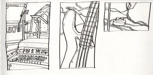 In Elbow's Studio, Blueprint, Salford | by larosecarmine