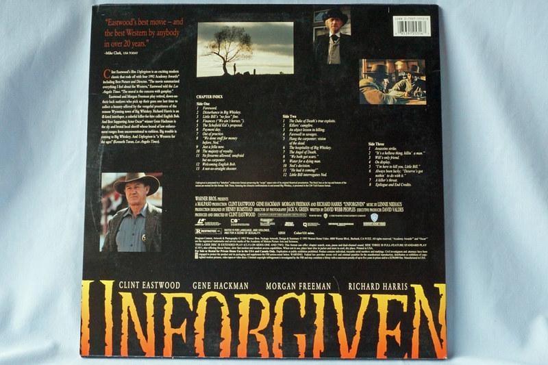 DSC02044 Unforgiven Starring Clint Eastwood Laser Disc