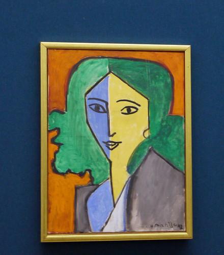 P1010453 Russie, Saint-Pe?tersbourg, Muse?e de l'Ermitage, Portrait de Lydia Delectorskaya d'Henri Matisse