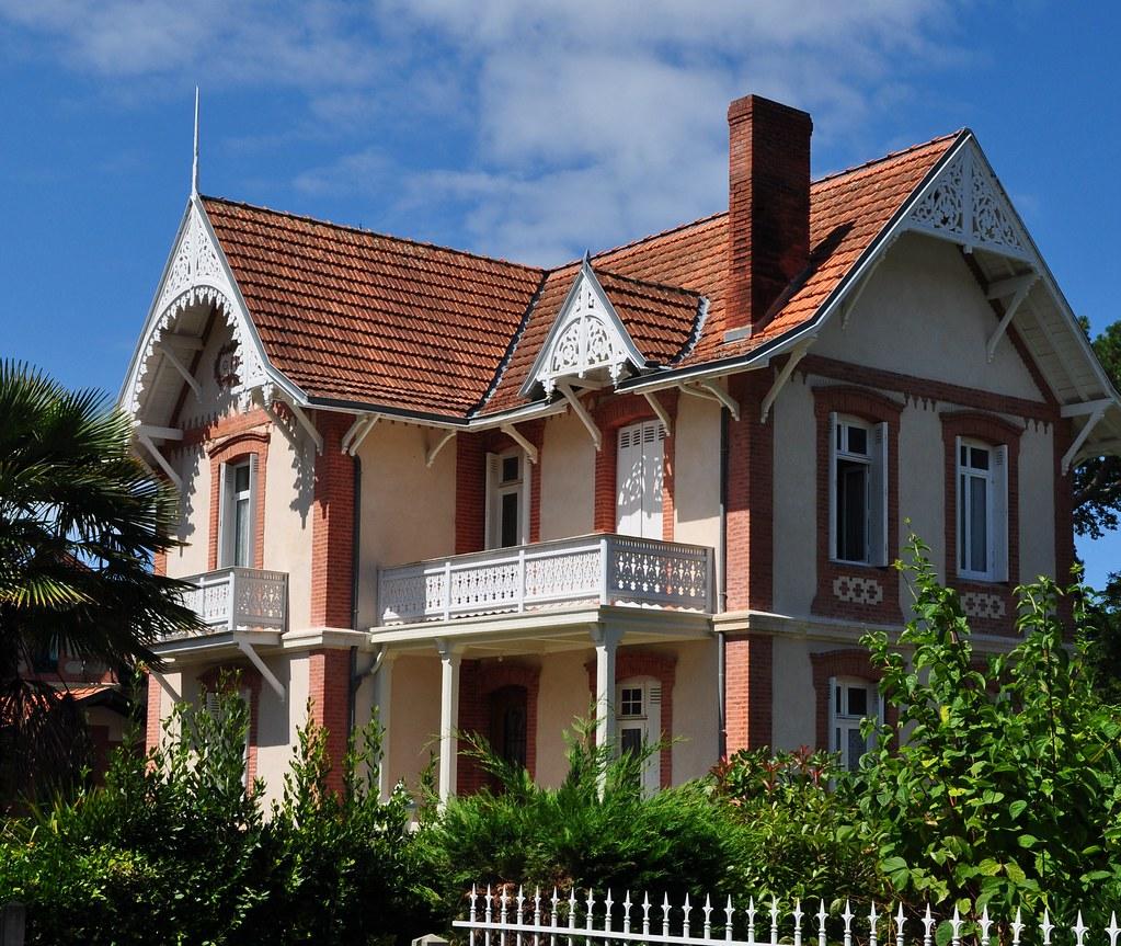 Villa Figaro Ville D Hiver Arcachon Gironde Aquitain Flickr