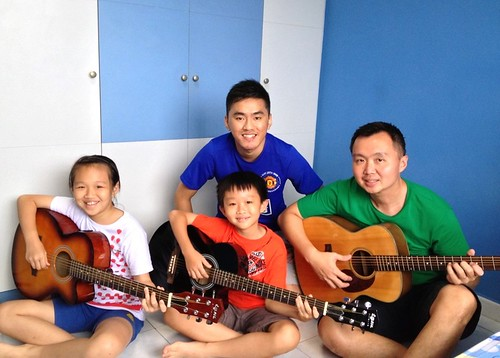 Guitar lessons Singapore Zenys Zaccheus Yang Liang