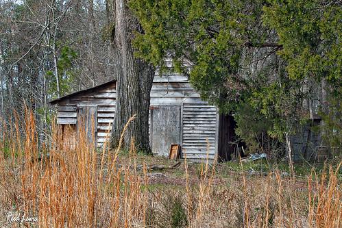 old building landscape rustic shed