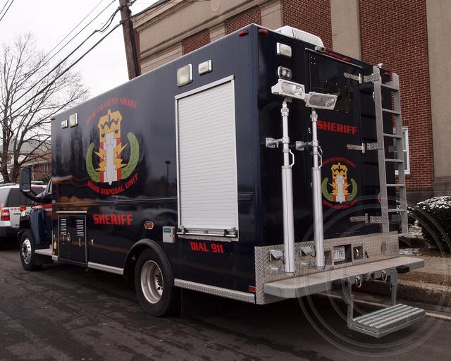 Rockland County Sheriff Bomb Disposal Unit Truck, Pearl Ri