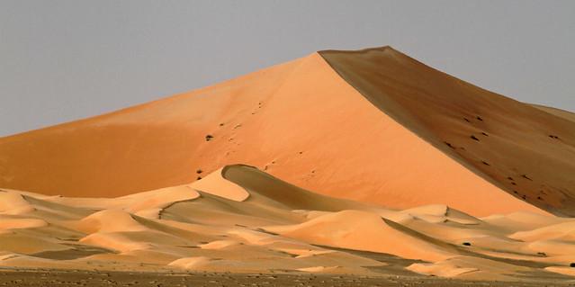 Large star dune in empty quarter