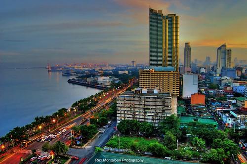 rexmontalbanphotography philippines manila roxasblvd sunrise